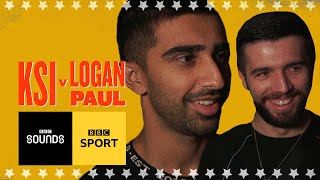 'If KSI wins it's a month-long party' - Sidemen Vikkstar123 & Zerkaa | BBC Sport