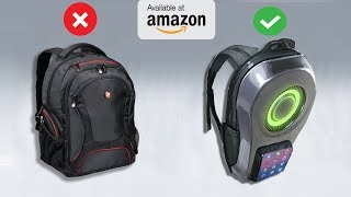 10 Crazy Backpacks Available On Amazon 2019 | Gadgets Under Rs100, Rs200, Rs500, Rs1000, Rs10k