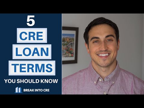 5 Commercial Real Estate Loan Terms You Should Know
