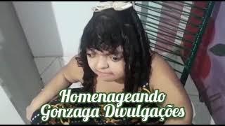 Poetisa Beatriz Paiva em homenagem emocionante canal Gonzaga Divulgação