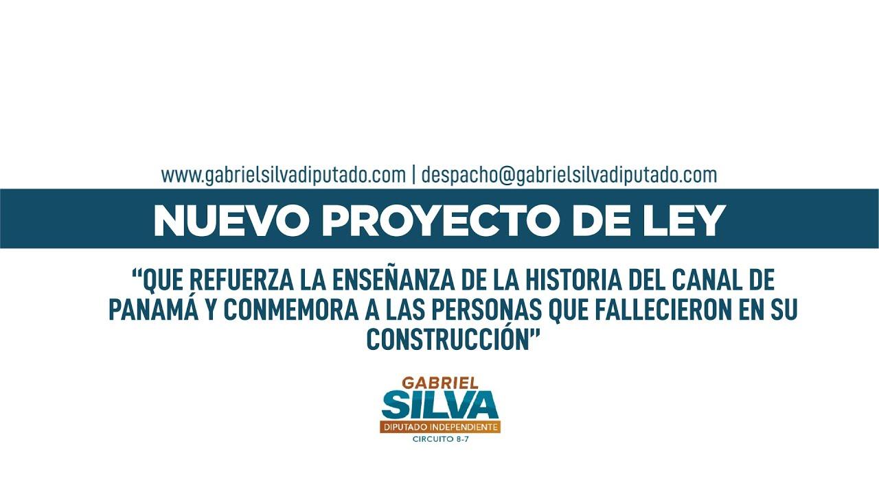 Gabriel Silva - Historia y Conmemoración de Víctimas de la Construcción del Canal de Panamá
