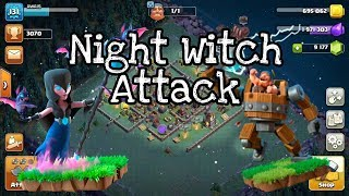 Clash Of Clans Builder Base Night Witch Attack Strategy || COC ||Urdu/Hindi 2019