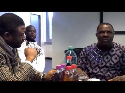 Abass Kaboua en exclusivité sur Afrika TV Radio. Entretien avec Black Edibe. in München 2015
