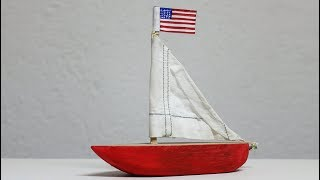 DIY Wooden Toy Boat - Making Wooden Toys