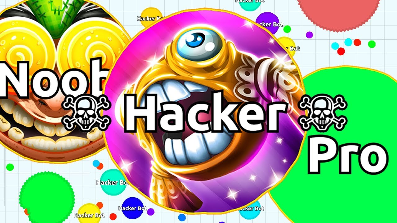 NOOB vs PRO vs HACKER in Agar io