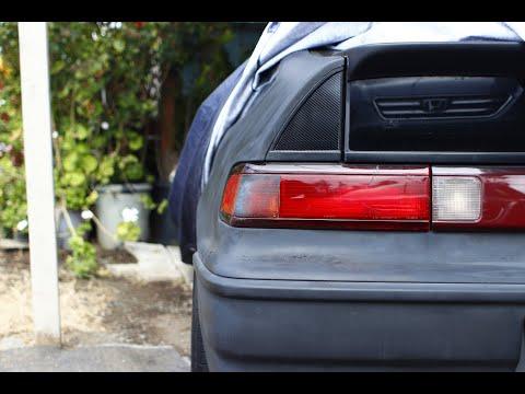 Honda Crx Carbon Fiber Rear Triangle Garnish
