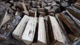Stacking Firewood - 4 ways of building a woodpile