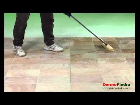 1 limpieza de restos de fin de obra en terracota doovi for Abrillantar suelo porcelanico mate