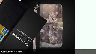 Wekays For Xiaomi RedMi S2 S 2 Y2 Case Cartoon Cat Leather Funda Case For Coque RedMi 5 4X Note 4...