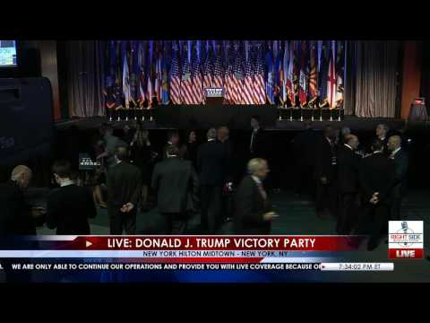Full Event: Donald Trump Victory Speech 11/8/16