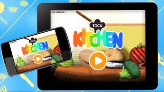 Cooking For Hungry Characters | Toca Kitchen | Google Play Trailer | @TocaBoca