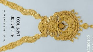Gold Necklaces with weight and price