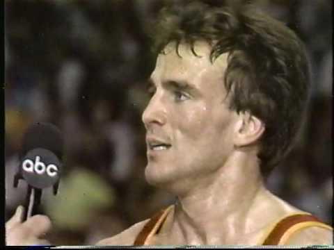 NCAA Finals Division 1 Wrestling 1987 Iowa Iowa State