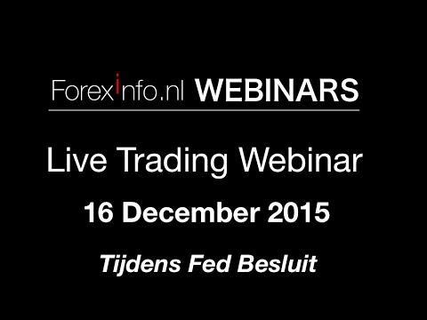 Live Forex Trading Webinar - 16 December 2015