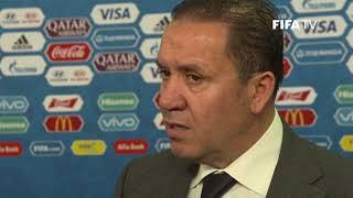 Nabil MAALOUL – Tunisia - Final Draw Reaction