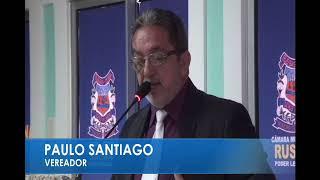 Paulo Santiago em pronunciamento 10 10 17