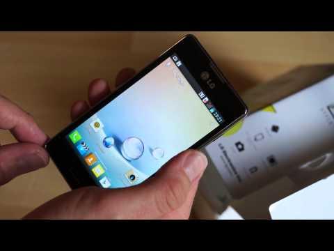 LG E460 Optimus L5 II im Test (1): Unboxing und erste Eindrücke