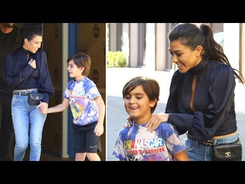Kourtney Kardashian Is A Fun, Fanny-Pack Wearing Mom!