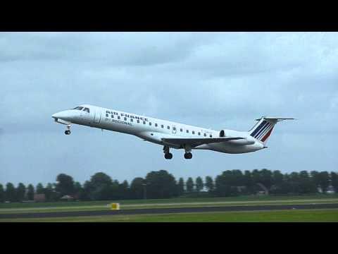 Air France Regional - Embraer 145 - Takeoff (F-GRGI)