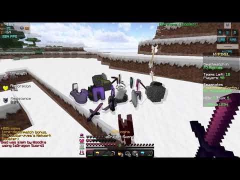 Idk maybe Back now? Hypixel Uhc Highlights #17