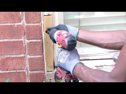 How To Repair Window Sill Dry Rot