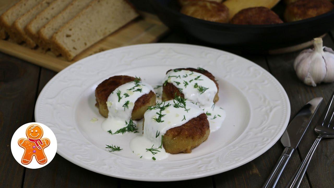 Белорусские пызы (зразы с мясом)