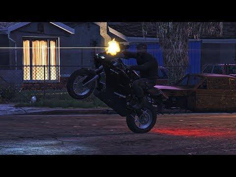 MUDJA VS CALE U GROOVE STREETU !!! Grand Theft Auto V - Deathmatch w/Cale