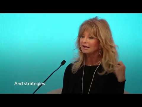 Mind Up And Be Happy! - Goldie Hawn - World Government Summit 2018/BYTES