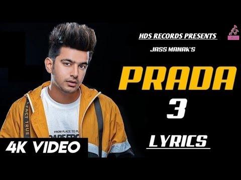 Prada 3 : Jass Manak Official Video  Swalina Kaur  New Punjabi Song 2019  Hds Records