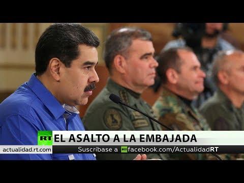 Venezuela denunciará a EE.UU. por el asalto a su Embajada en Washington