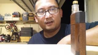 100% Completed Wood Box Mod V3
