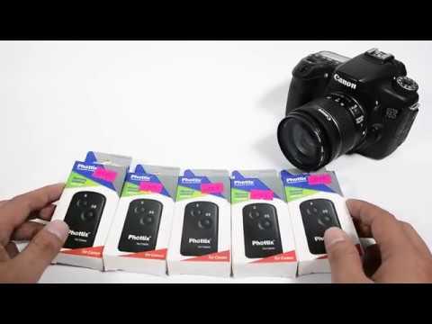 Remote điều khiển từ xa máy ảnh Canon tốt nhất