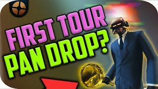 TF2: Golden Frying Pan Drop on 1st Tour + Reaction