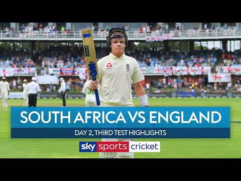Ollie Pope scores maiden Test hundred 🙌  South Africa vs England   3rd Test, Day 2 Highlights