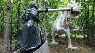 Robotic Stonewall Jackson Vs. Dinosaurs - Dinosaur Kingdom 2