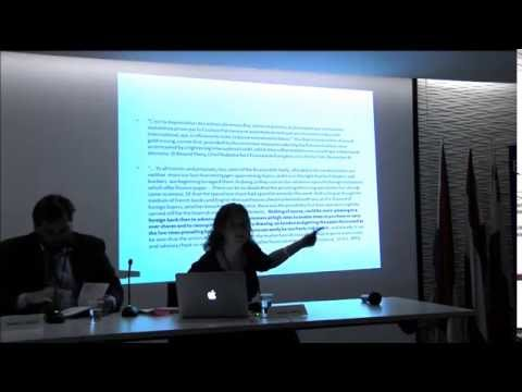 LHF Conference in London - Funda Soysal - The Rise and Fall of Constantinople as a Financial Centre