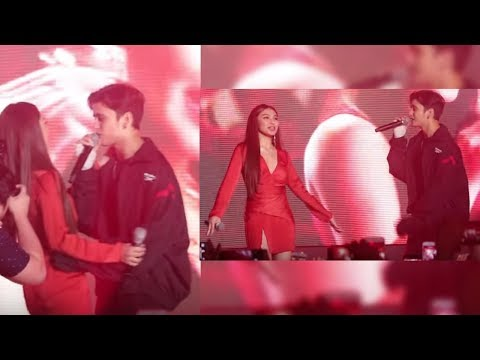 ONLY HERE!! James Reid & Nadine Lustre, pinagkaguluhan sa the HOTTEST Party ever!