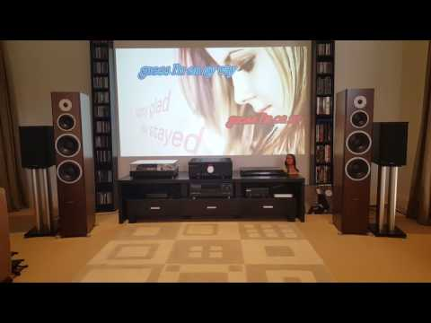 Dynaudio excite x44 & Musical Fidelity M6 500i meets Chlara(watch in HD)