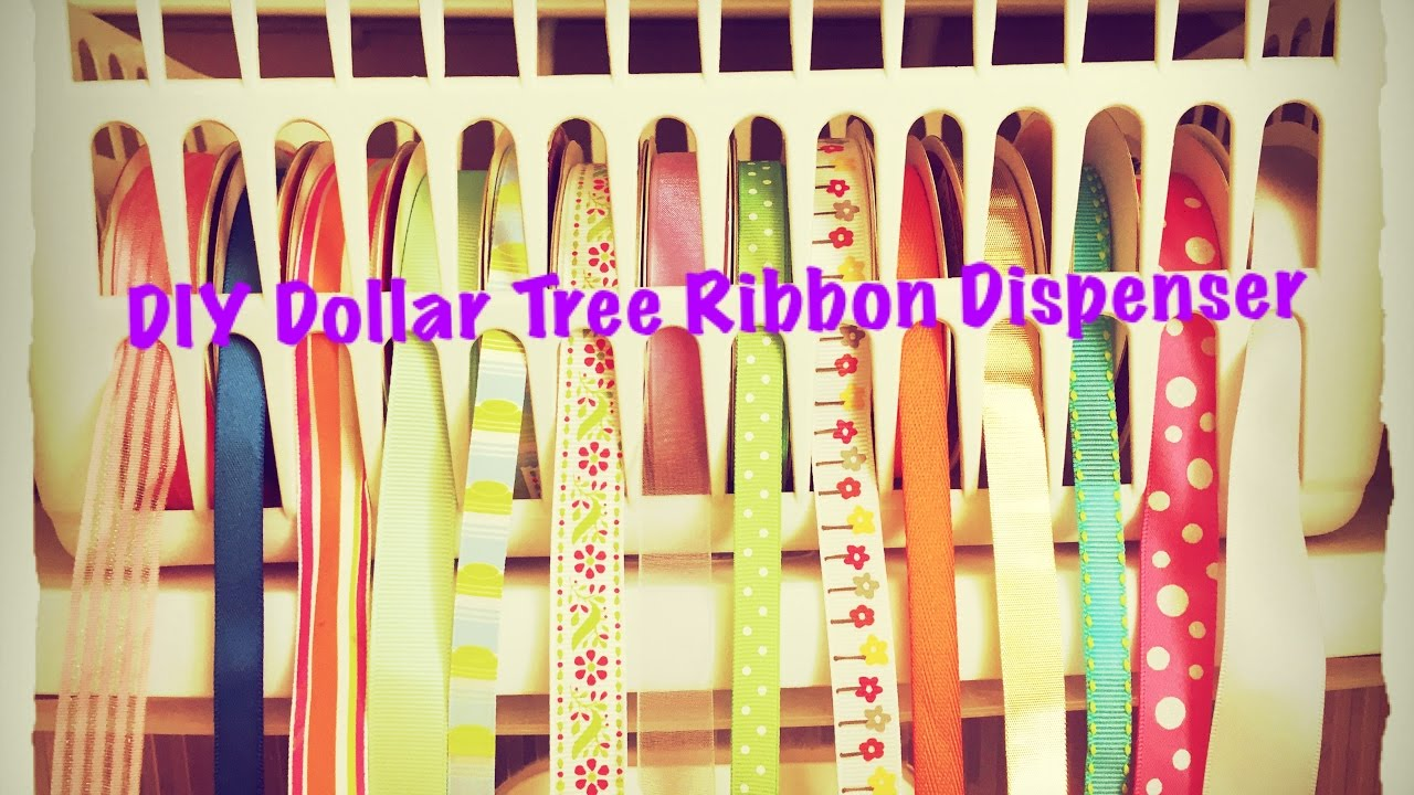 Diy dollar tree ribbon dispenser for 2 quick and easy youtube solutioingenieria Image collections