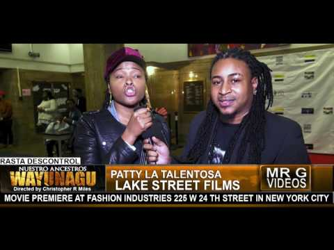Wayunagu Movie Premiere in New York  PATTY LA TALENTOSA