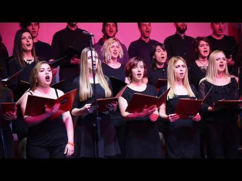 Vokalkompagniet Choir From Copenhagen Perform In Belgrade