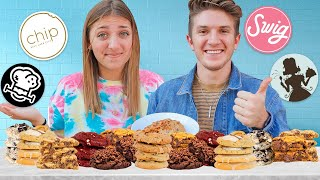 Who has THE BEST Chip Cookies?!? | Ranking ALL the Cookies with Special Guest Brooks