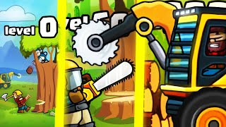 HOW STRONG IS THE MOST OVERPOWERED LUMBERJACK EVOLUTION? (9999+ ANIMAL MAX LEVEL) l Lumberwhack #2
