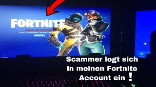 Scammer hacks minha conta Fortnite! 😭 scammer foi enganado no Fortnite salvar o mundo