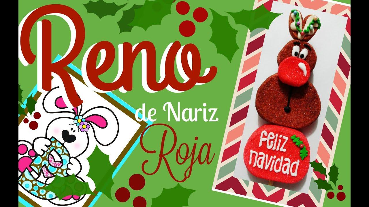 Reno de Nariz Roja  Bomgoletas Navidad 2015  YouTube
