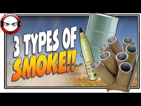War Thunder Smoke Launchers! (Smoke Shell, Smoke Barrel, Smoke Launcher)
