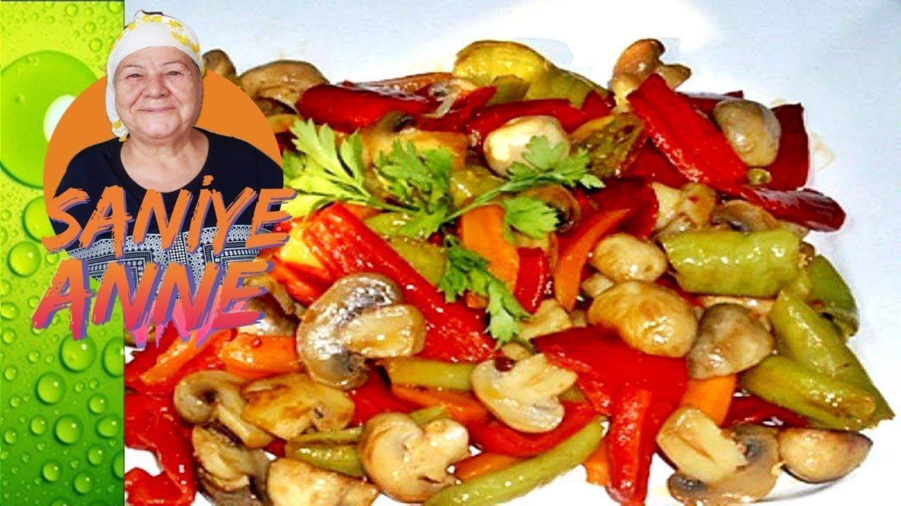 Fırında Kaşarlı Sebzeli Mantar Tarifi Videosu