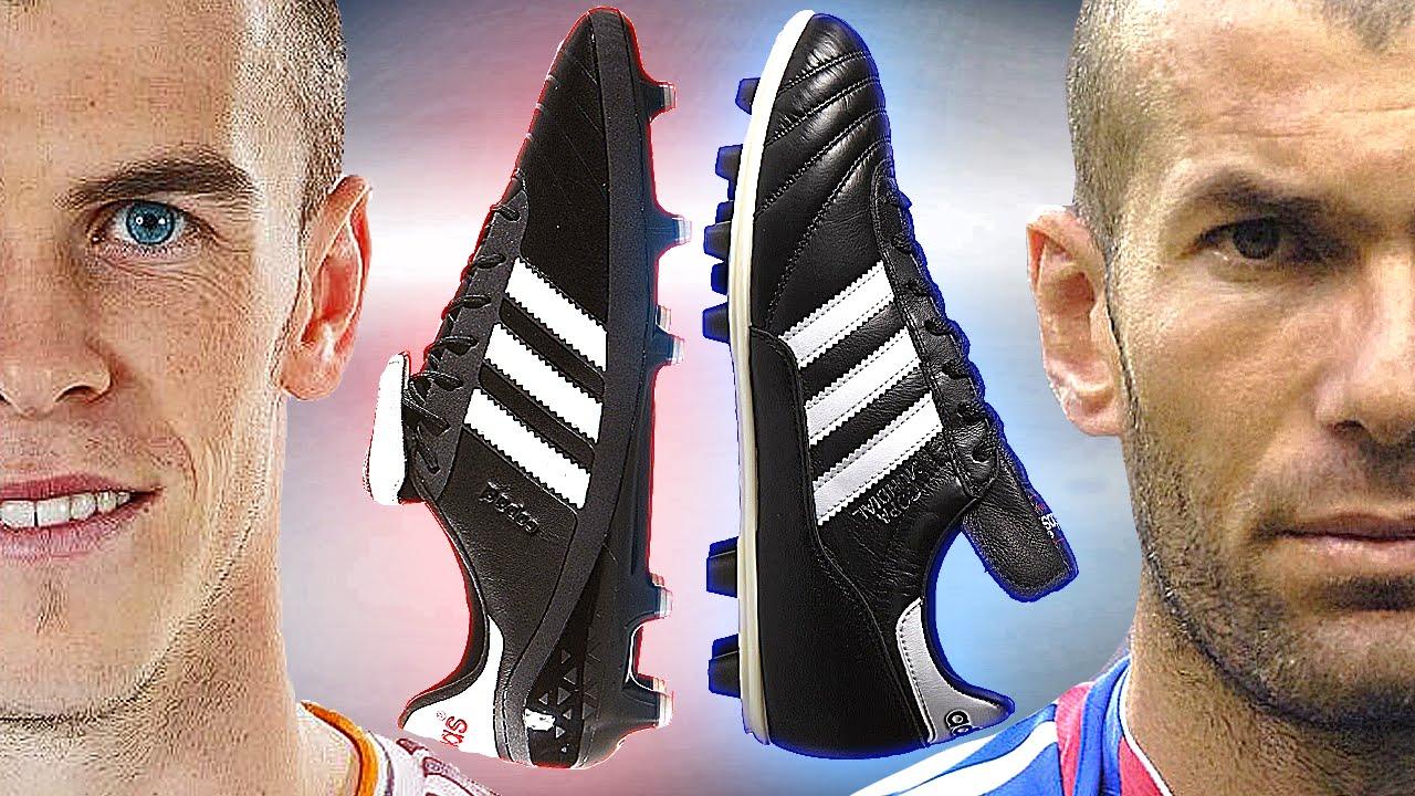 promo code fa985 dfdee Gareth Bale vs Zidane Classic Boot Battle adidas Copa SL vs
