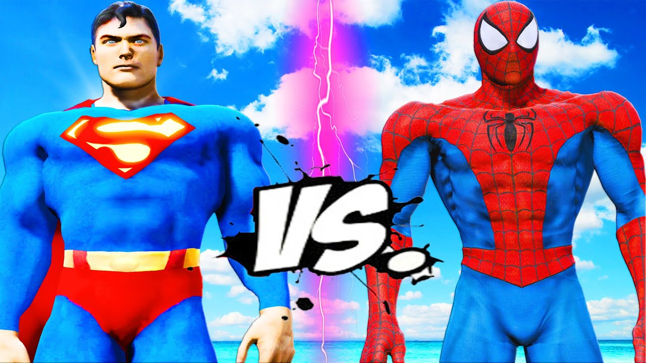 Superman Vs Spiderman Epic Battle Youtube