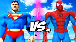 SUPERMAN VS SPIDERMAN - EPIC BATTLE